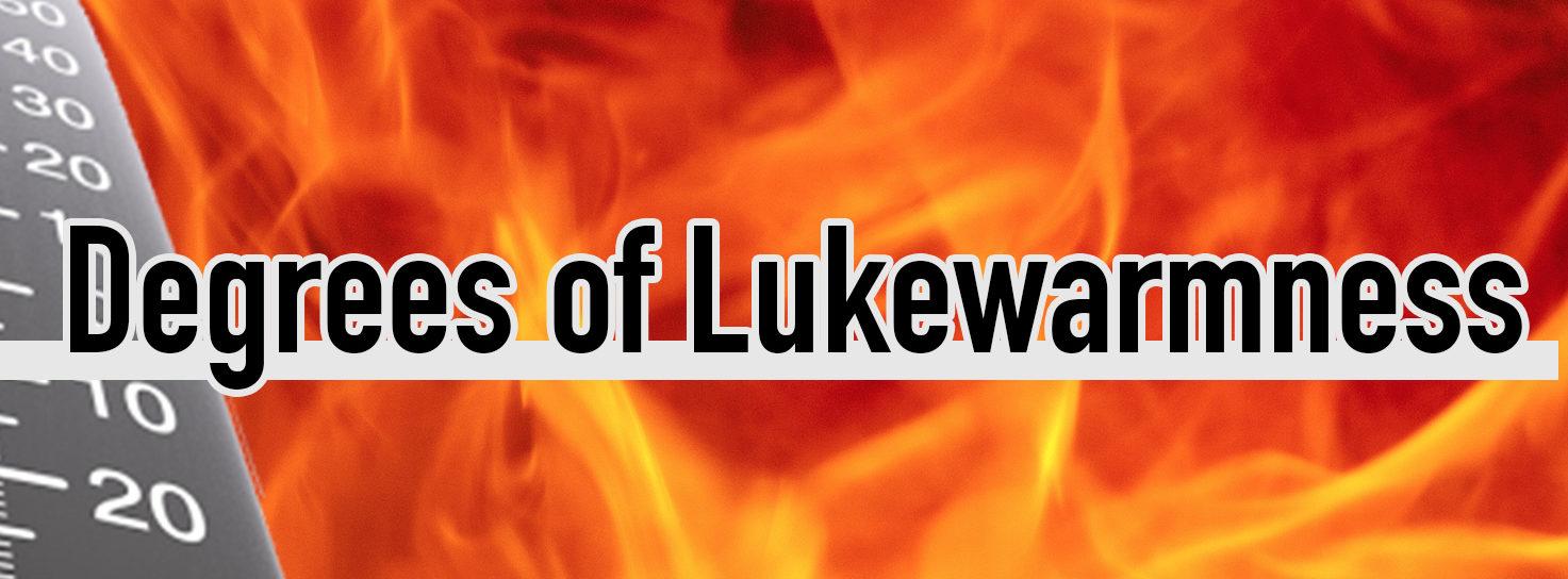 Degrees of Lukewarmness